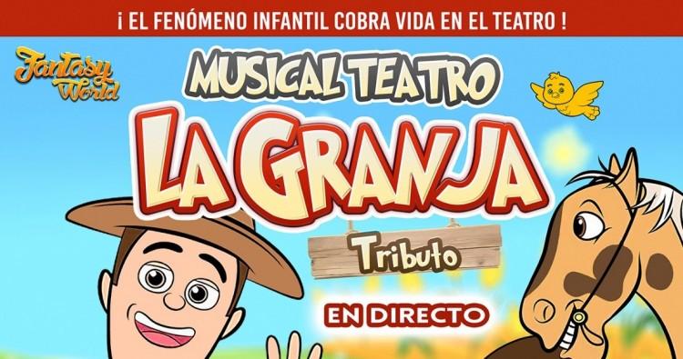 FANTASY WORLD. LA GRANJA TEATRO EL TRIBUTO