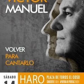VICTOR MANUEL. VOLVER PARA CANTARLO