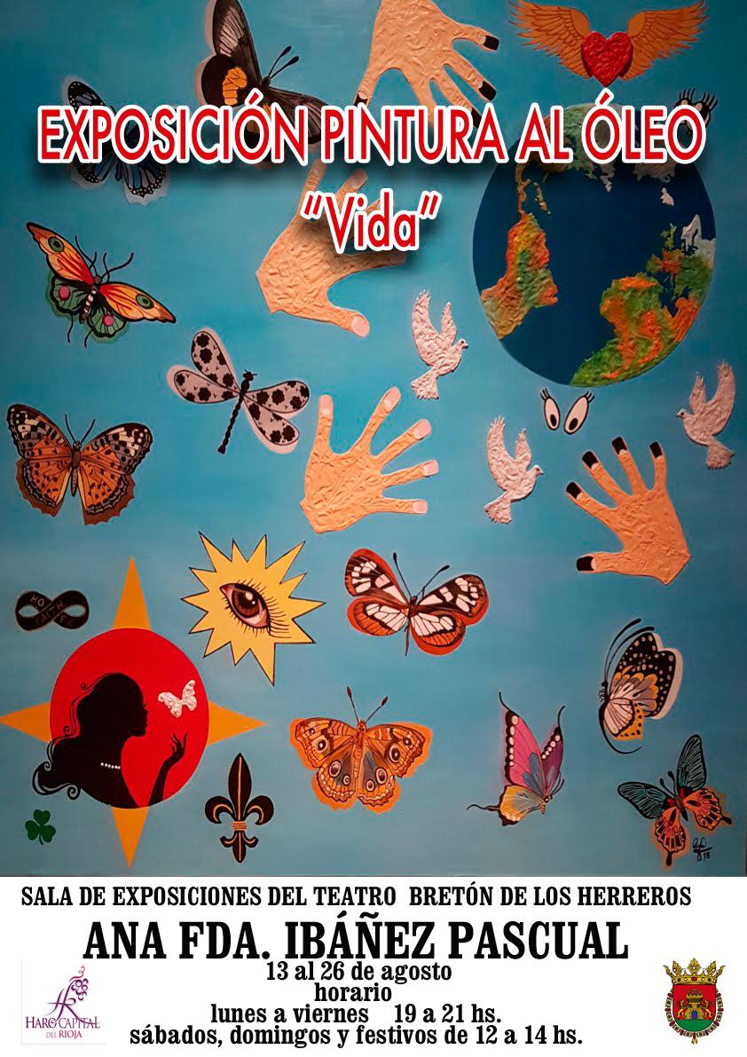 """El lunes se inaugura """"Vida"""" en la Sala de Exposiciones del Teatro Bretón de los Herreros d"""