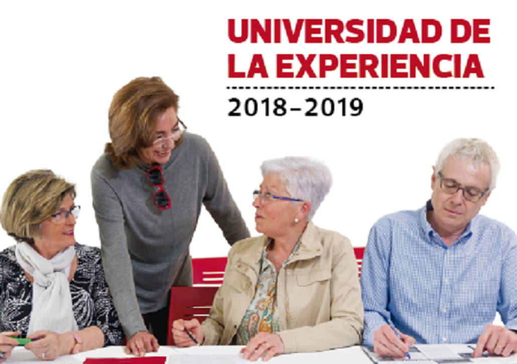 Este viernes finaliza el plazo de inscripción de la Universidad de la Experiencia