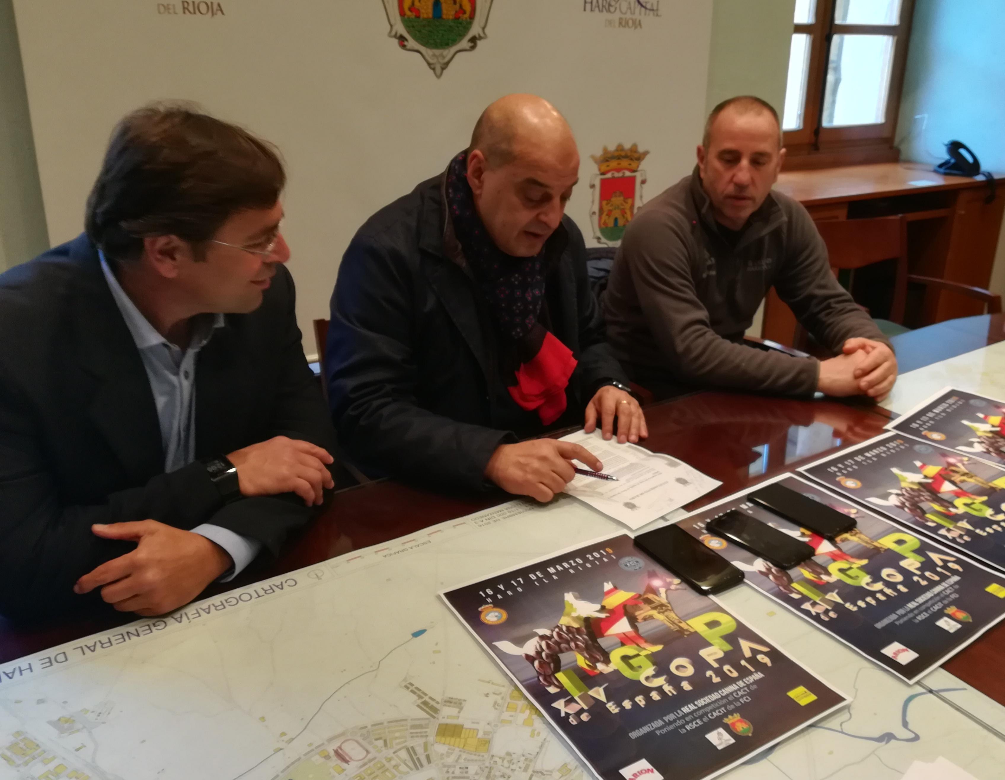 Haro acogerá la XXIV Copa de España de Perros de Trabajo y Utilidad