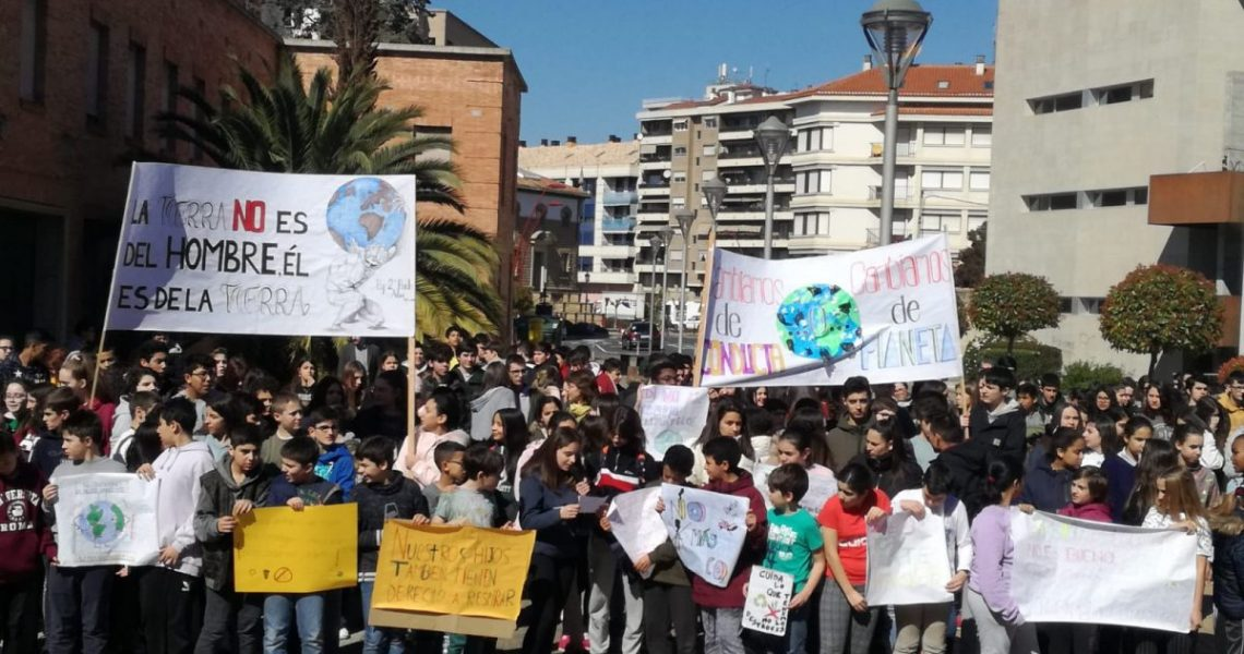 El Ayuntamiento de Haro apoya la huelga estudiantil contra el cambio climático