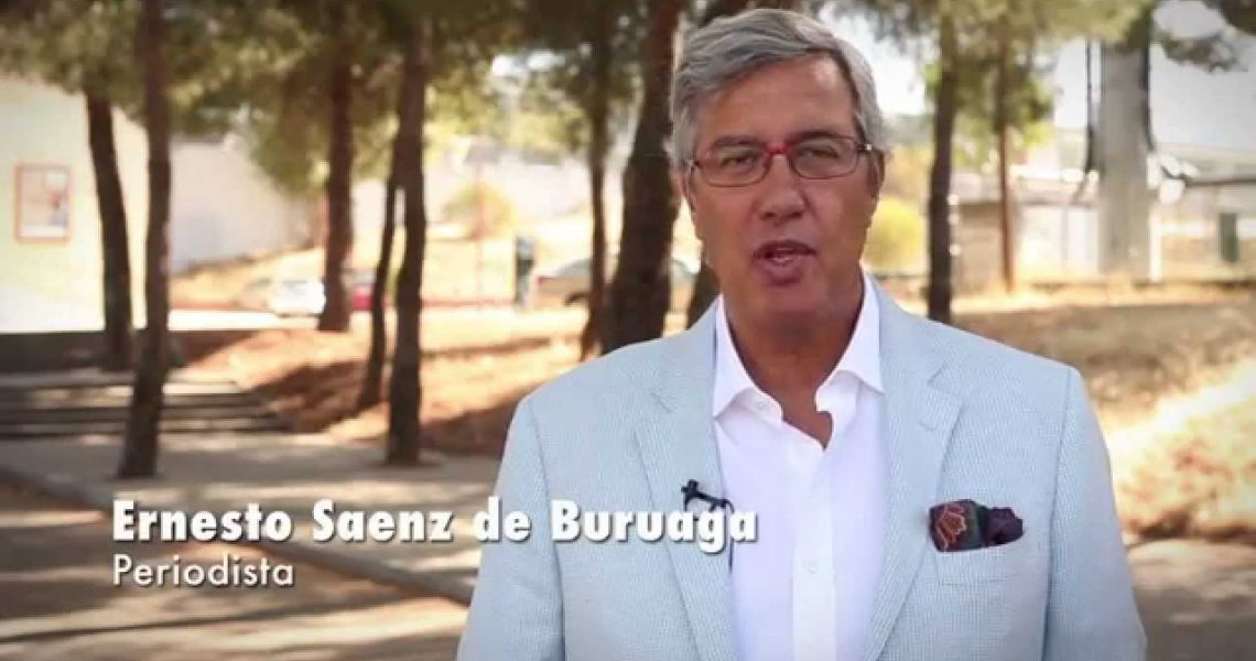 Ernesto Sáenz de Buruaga apoya la candidatura de Haro a Ciudad Europea del Vino