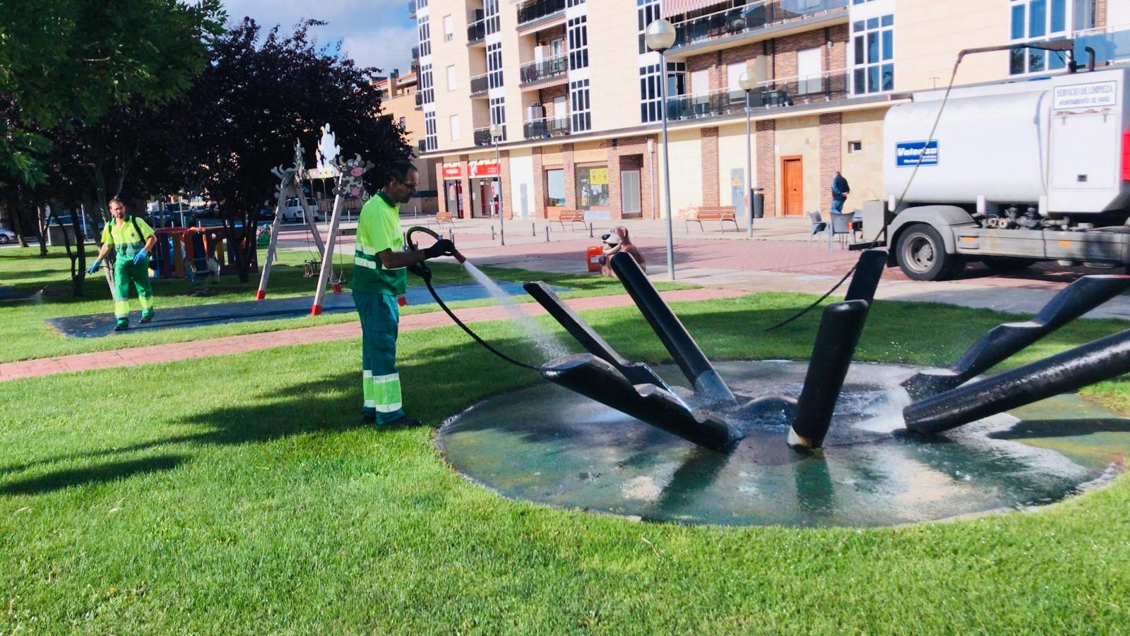 El Ayuntamiento de Haro abre los parques infantiles de la ciudad