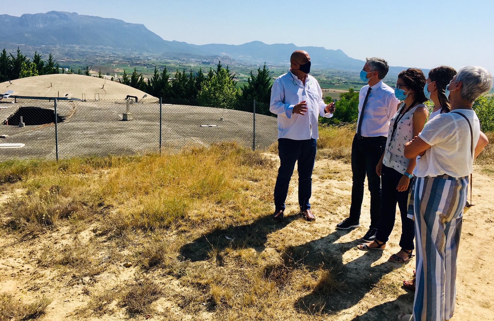 El Gobierno de La Rioja aportará el 80% de la reforma del depósito de agua potable de Haro