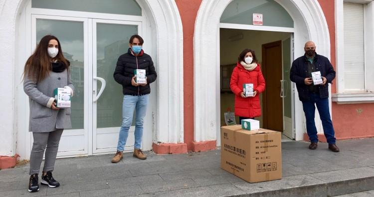 El Ayuntamiento reparte 1.500 mascarillas a los centros educativos de Haro