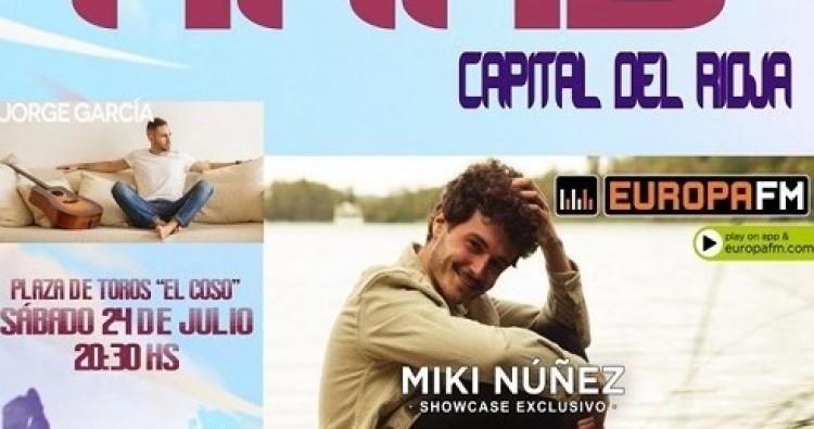 """Miki Núñez llega a Haro con mucha ilusión y """"una actuación muy especial"""""""
