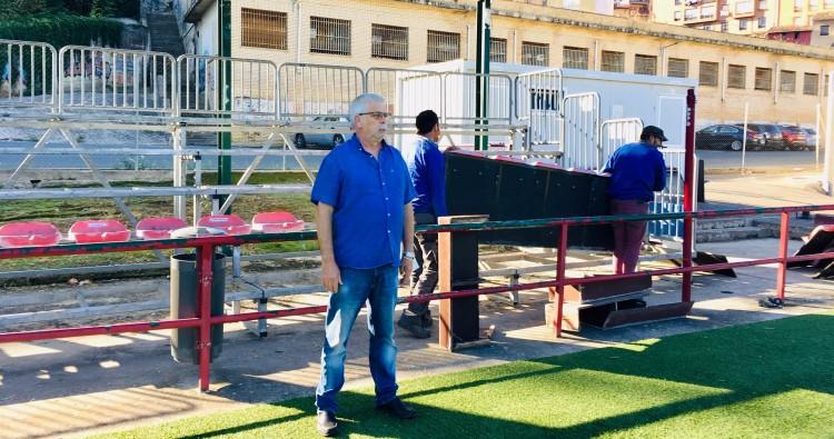 Comienzan las obras de remodelación de las gradas de El Ferial