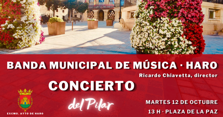 Música para el día del Pilar en la Plaza de la Paz