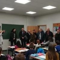 Inaugurado el nuevo espacio de aulas en el Colegio Sagrado Corazón de Haro