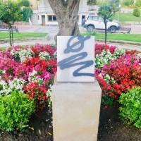 Haro condena los actos vandálicos en el monolito homenaje a las victimas del COVID-19