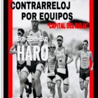 """Haro, sede del Campeonato Riojano de Duatlón por equipos """"Capital del Rioja"""""""