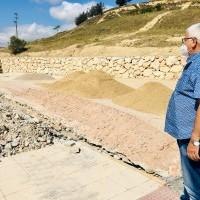 Las obras del nuevo aparcamiento de Gonzalo de Berceo avanzan a buen ritmo