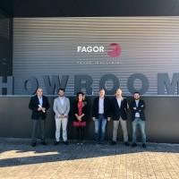 El Ayuntamiento de Haro se reúne con el grupo empresarial Mondragón