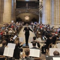 La Parroquia de Santo Tomás Apóstol de Haro acoge un nuevo concierto de la Banda Municipal de Música