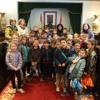 Los alumnos del Colegio de la Vega visitan el Ayuntamiento de Haro